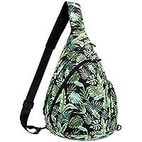 Sling Bag Backpack Shoulder Crossbody Backpack for Women & Men - Multipurpose Rope Bag Casual Daypack for Outdoor Travel Hiking Cycling
