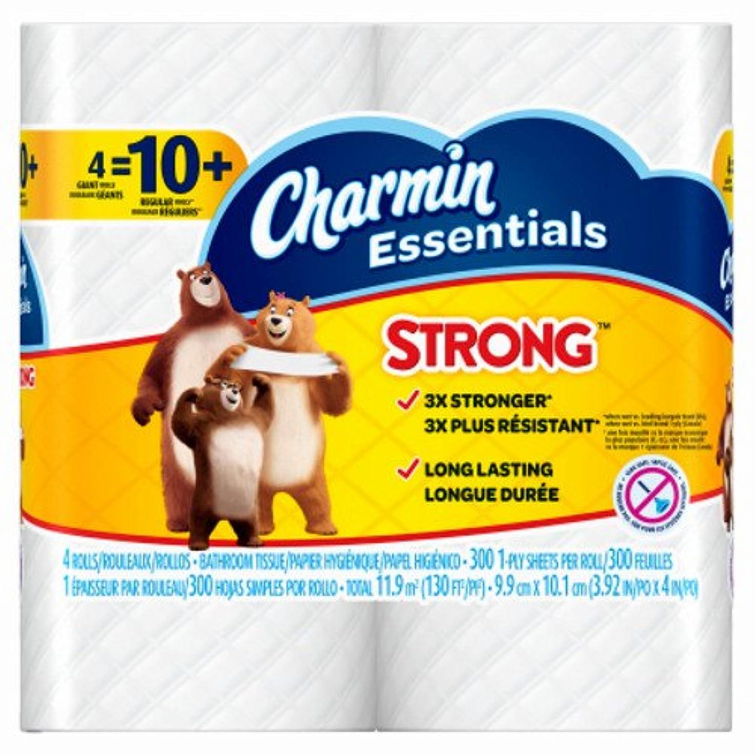 巨人本土行方不明P & G 96891 4 GiantロールCharmin Essentials Strong Bath Tissue