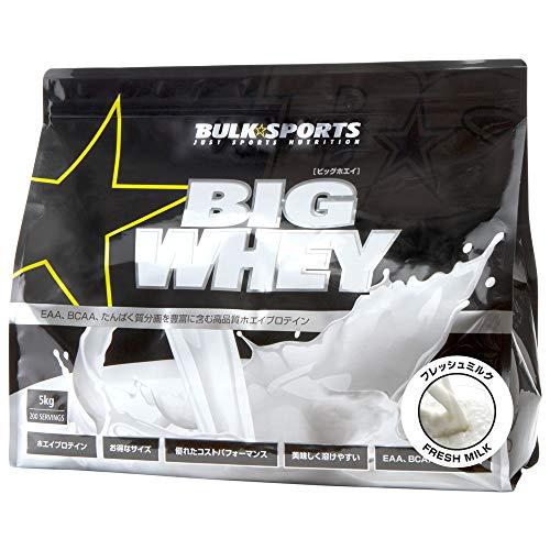 株式会社ボディプラスインターナショナル バルクスポーツ プロテイン ビッグホエイ 5kg フレッシュミルク