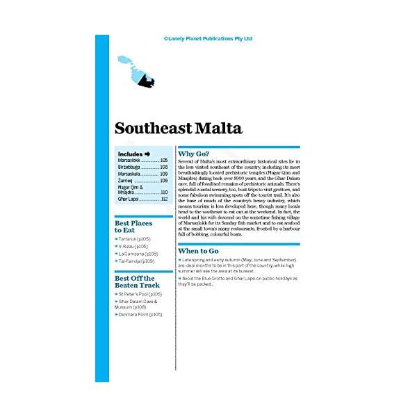 Lonely Planet Malta & ...の紹介画像16