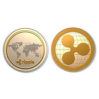 リップルコイン ゴールドメッキ レプリカアートコレクションギフト仮想通貨