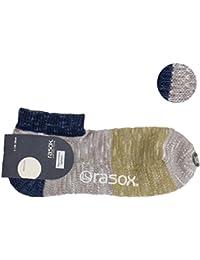 (ラソックス) rasox ショートソックス / ミスマッチロウ