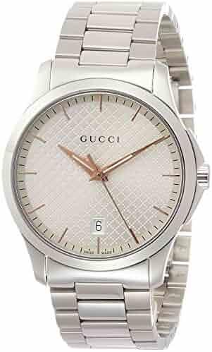 53a69de6b22  Gucci  Gucci G- Timeless Quartz Wrist Watch Silver Dial ya1264052 Men s   parallel