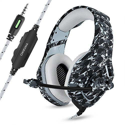 Gamguy ヘッドセット 3.5mm 有線 ヘッドホン ゲーム用 ステレオヘッドホンPS4 Xbox One PC Nintendo Switchなどに対応 高音質 マイク付き 角度調整可能 日本語取説付き