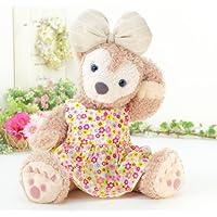 cushu cush ダッフィー シェリーメイ ぬいぐるみ用 着せ替え 洋服 コスチューム ピンク系花柄 ワンピース 単品 リボンは付いていません cds235S