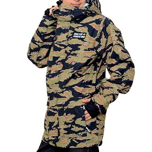 ROME SDS(ローム) スノーボードウェア ジャケット VAGRANT JACKET ジャケット カモフラージュ カモフラ 迷彩柄 スノボ スノーボード メンズ TigerCamo XLサイズ vagrant-jk-XL-21014302-TigerCamo