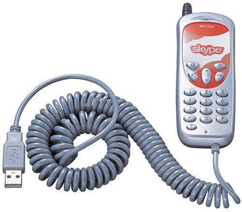 BUFFALO  USB対応 Skypeフォン BSKP-U201/SV