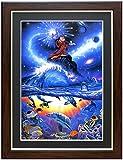 アートショップ フォームス ラッセン&ディズニー ミッキーマウス「ソーサラー・オブ・ザ・シーズ」アートポスター額装品
