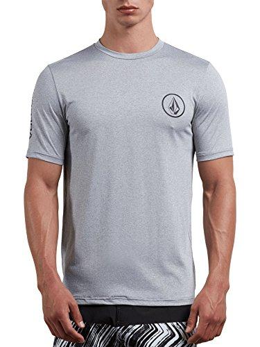 (ボルコム) VOLCOM < メンズ > 半袖 ラッシュガード Tシャツ (紫外線カット: UPF30+) [ N0111801 / Lido Heather S/S ] 水着 スポーツ
