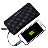USBメンズハンドバッグ革財布メンズビジネスクラッチバッグジッパー充電財布付きの長いスマート財布