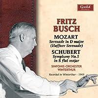 Busch Conducts Mozart & Schubert by Peter Rybar (2010-07-13)