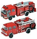 トミーテック ジオコレ ザ・トラックコレクション トラコレ 水槽付消防ポンプ車セット ジオラマ用品