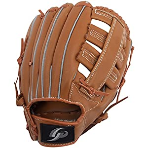 GP (ジーピー) 野球 グローブ 軟式 一般 左投げ用 オールラウンド 12.5インチ ブラウン 36883Y 部活 草野球 練習