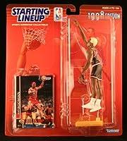 DENNIS RODMAN/CHICAGO BULLS 1998 NBA Starting Lineup Action Figure & Exclusive NBA Collector Trading Card [並行輸入品]