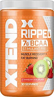 Scivation Xtend Ripped BCAA Powder, Strawberry Kiwi, 30 Servings