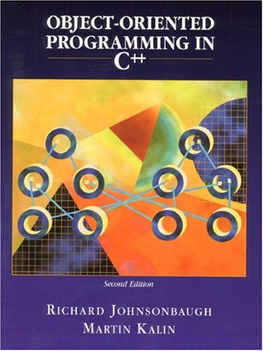 Download Object-Oriented Programming in C++ 0130158852