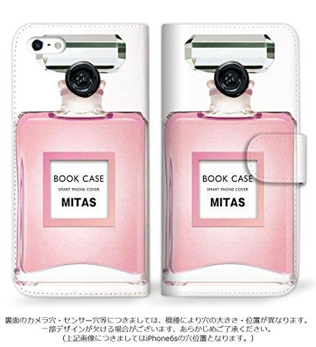 mitas DIGNO ISW11K ケース 手帳型  香水2 ピンク (83) SC-0155-PK/ISW11K