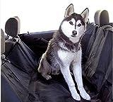車 座席 汚れ 防止 犬 ペット シート カバー 特大 サイズ 防水 撥水 加工 済 (黒)