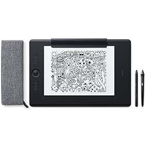 ワコム Wacom Intuos Pro Paper Edition Lサイズ A4対応 ペンタブレット ペーパーエディション ペン入力 Wacom Pro Pen 2 付属 PTH-860/K1
