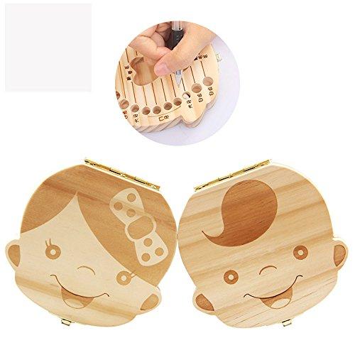 赤ちゃん用乳歯ボックス 実木材料