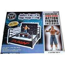 WWE Ring Exclusive John Cena's Hip Hop Ring with Exclusive John Cena Action Figure