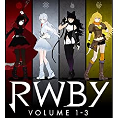 RWBY VOLUME 1-3 Blu-ray SET<初回仕様版>
