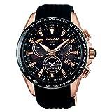 [セイコーウォッチ] 腕時計 アストロン GPSソーラー デュアルタイム SBXB055 メンズ ブラック
