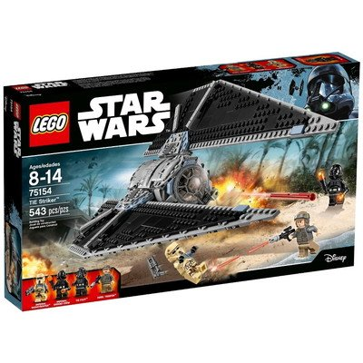 Star Wars(スターウォーズ) LEGO Star Wars? TIE Striker? 75154 おもちゃ One Size【並行輸入】
