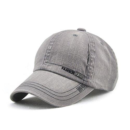 [해외]VWill 캡 남성 여성 무지 세척 데님 야구 모자 클래식 모자 캐주얼 골프 여행 UV 컷 조절 남녀 겸용 (6 색)/VWill Cap Men`s Womens Plain Washing Denim Baseball Cap Classic Hat Casual Golf Travel UV Adjustable Unisex Adjustable Unisex (All...