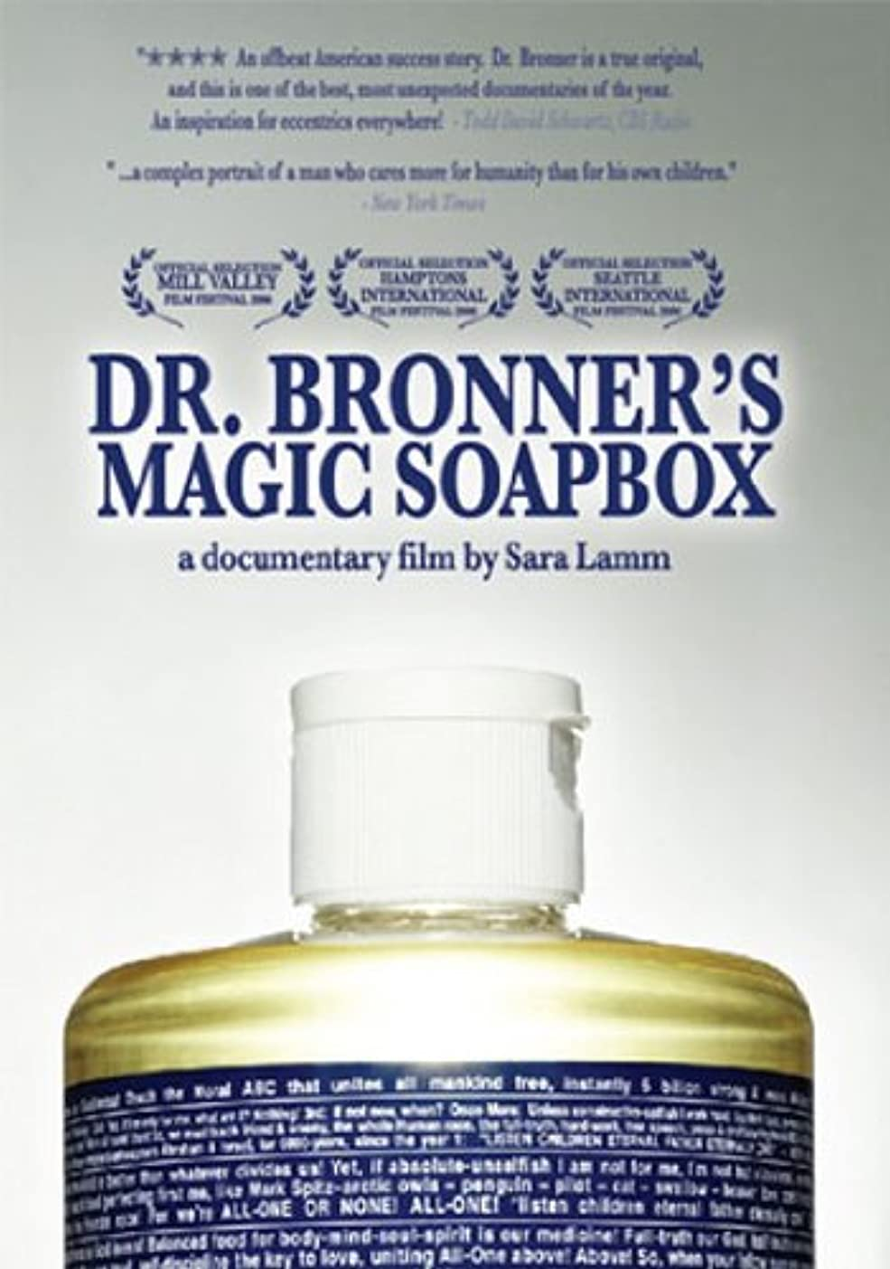 維持するストレンジャー祈るDr Bronner's Magic Soapbox [DVD] [Import]