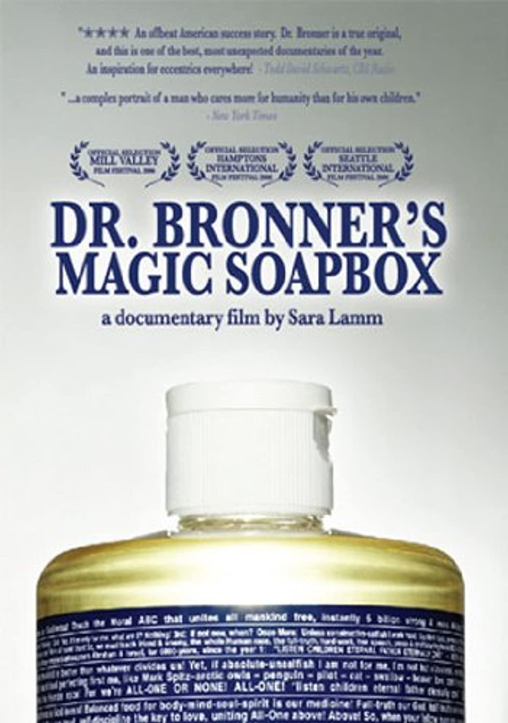 聖歌チャネル隔離Dr Bronner's Magic Soapbox [DVD] [Import]