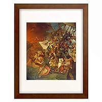 Robert Ker Poorter 「Die Eroberung von Asow am 18. Mai 1696」 額装アート作品