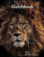 "Sketchbook: 120 pages, 8.5""x11"", Blank White Framed Paper"