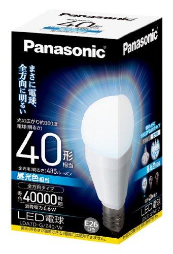 LED電球 一般電球タイプ 全方向タイプ4 LDA7DGZ40W 箱1個