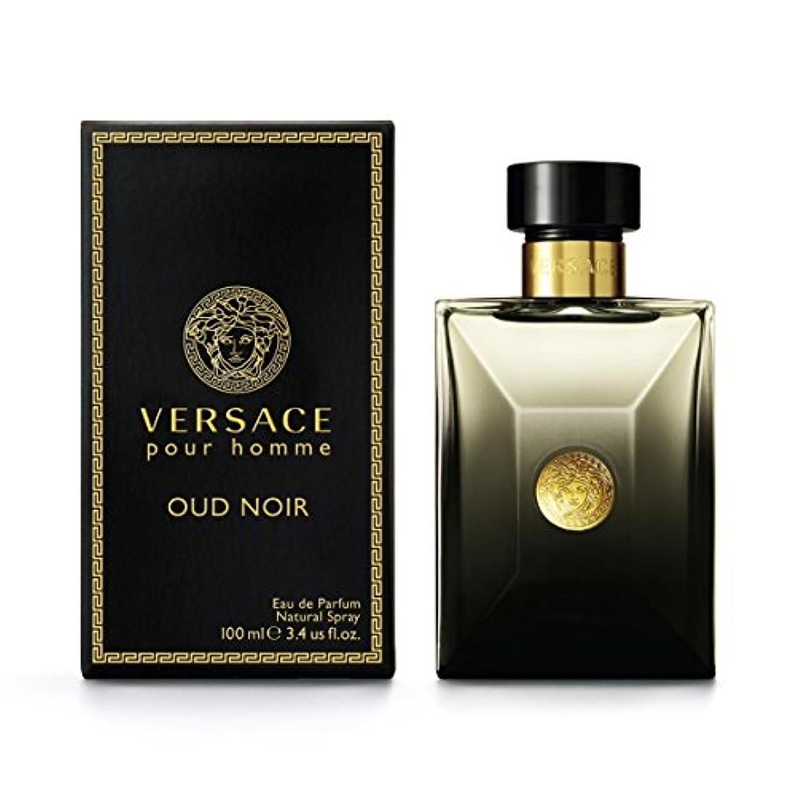 Versace Pour Homme Oud Noir by Versace Eau de Parfum Spray 100ml