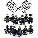 LEGO レゴ 互換 SWAT 特別狙撃隊 フル装備 大量武器パーツ ミニフィグ 12体セット