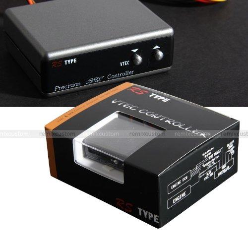 [해외]Honda | Acura 슬림 컴팩트 LCD 디스플레이 VTEC 컨트롤러 건메탈/Honda | Acura Slim compact LCD display VTEC controller Gun metal