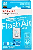 東芝(TOSHIBA) 無線LAN搭載SDHCカード32GB Class10 FlashAir W-03 SD-R032GR7AL03A