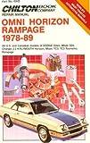 Omni/Horizon Rampage, 1978-89 (Chilton's Repair Manual (Model Specific))