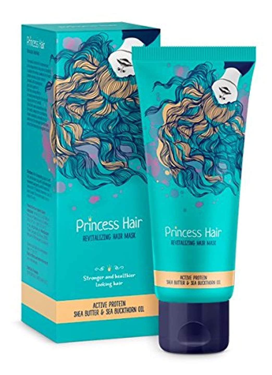 スカーフ芽エキス育毛マスク Princess Hair, Mask for hair growth 75ml Hendel's Garden