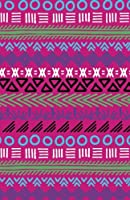 Bullet Journal Tribal Art Pattern Pink: Graph Design - 162 Numbered Pages with 150 Graph Style Grid Pages, 6 Index Pages and 2 Key Pages in Easy to Carry 5.5 X 8.5 Size