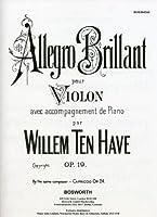 Allegro Brillante Op. 19: Violin and Piano