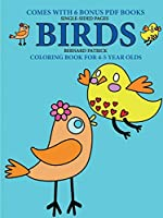 Coloring Book for 4-5 Year Olds (Birds)