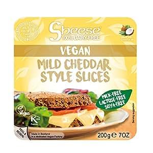 【クール便※冷凍便同梱不可】Sheese 植物性ヴィーガンチーズ 【マイルドチェダー】【スライス】 とろけるタイプ シーズ | ピザ、バゲット、グラタンなどに