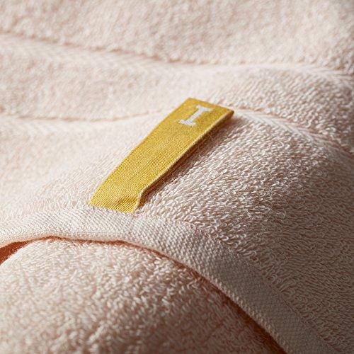 オーガニック120 バスタオル ライトピンク(今治タオルのIKEUCHI ORGANIC 風で織るタオル)1枚