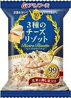 アマノフーズ フリーズドライ ビストロリゾット 3種のチーズリゾット24g×4食 セット