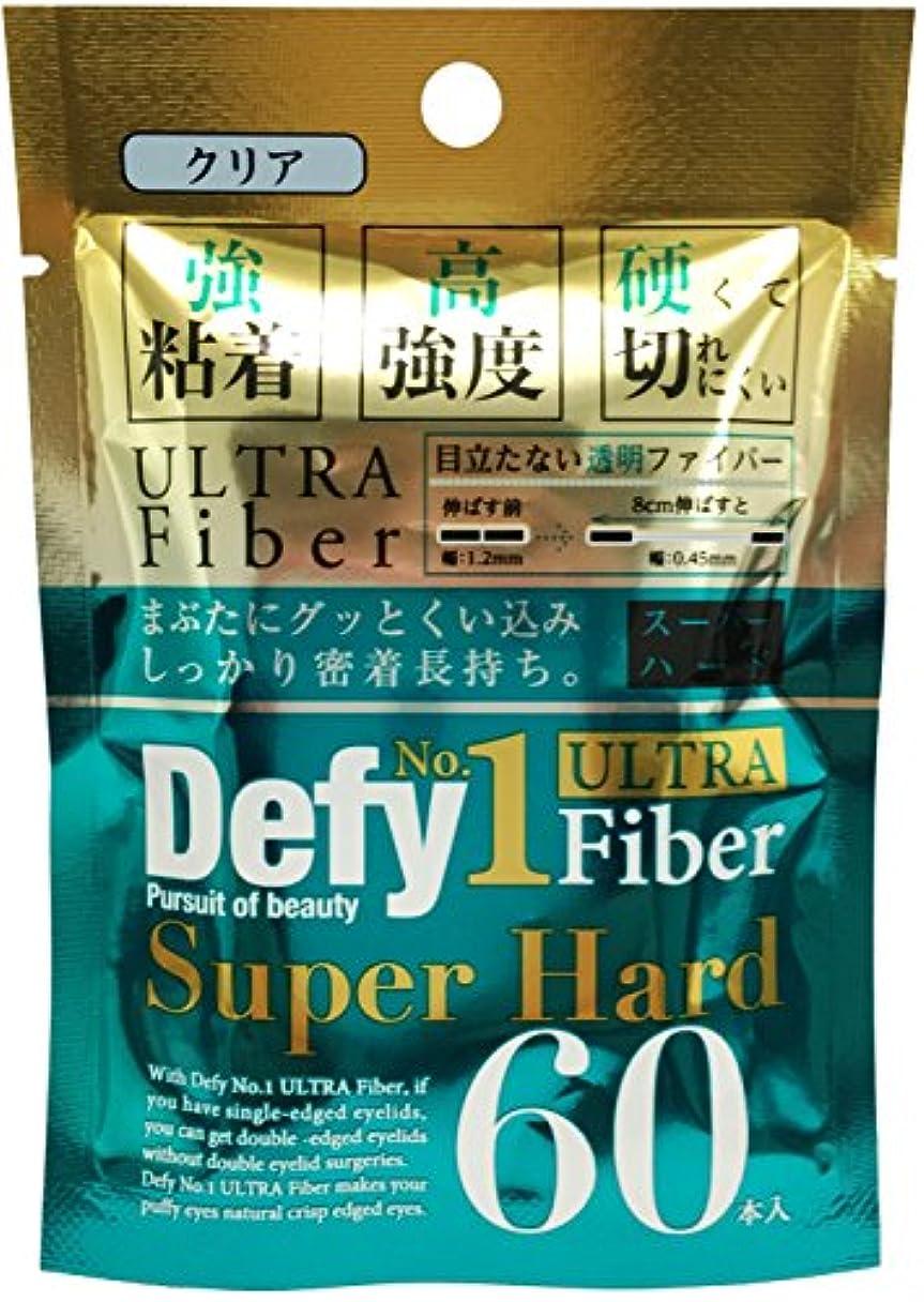 側溝意識的一致Defy No.1ウルトラファイバー スーパーハード クリア