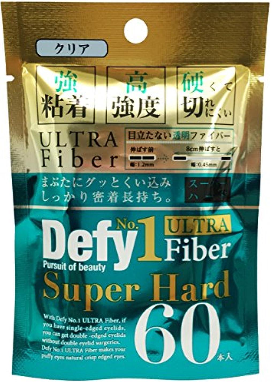 純正マスク傑作Defy No.1ウルトラファイバー スーパーハード クリア