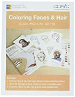 Copic Coloring Faces Book & Line Art Kit- by Copic