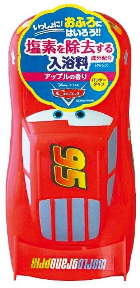 ホイットニータワーの間にディズニー バスタイム 3D入浴料 カーズ?マックイーン 250g